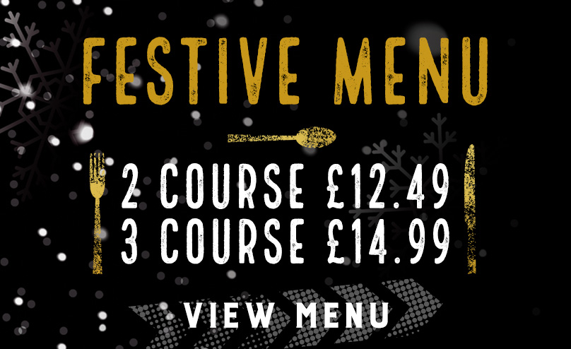 Festive Menu at Red Lion Hotel