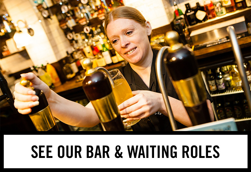 Bar roles at Red Lion Hotel