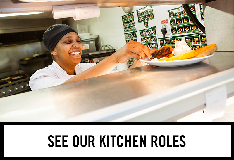Kitchen roles at Red Lion Hotel